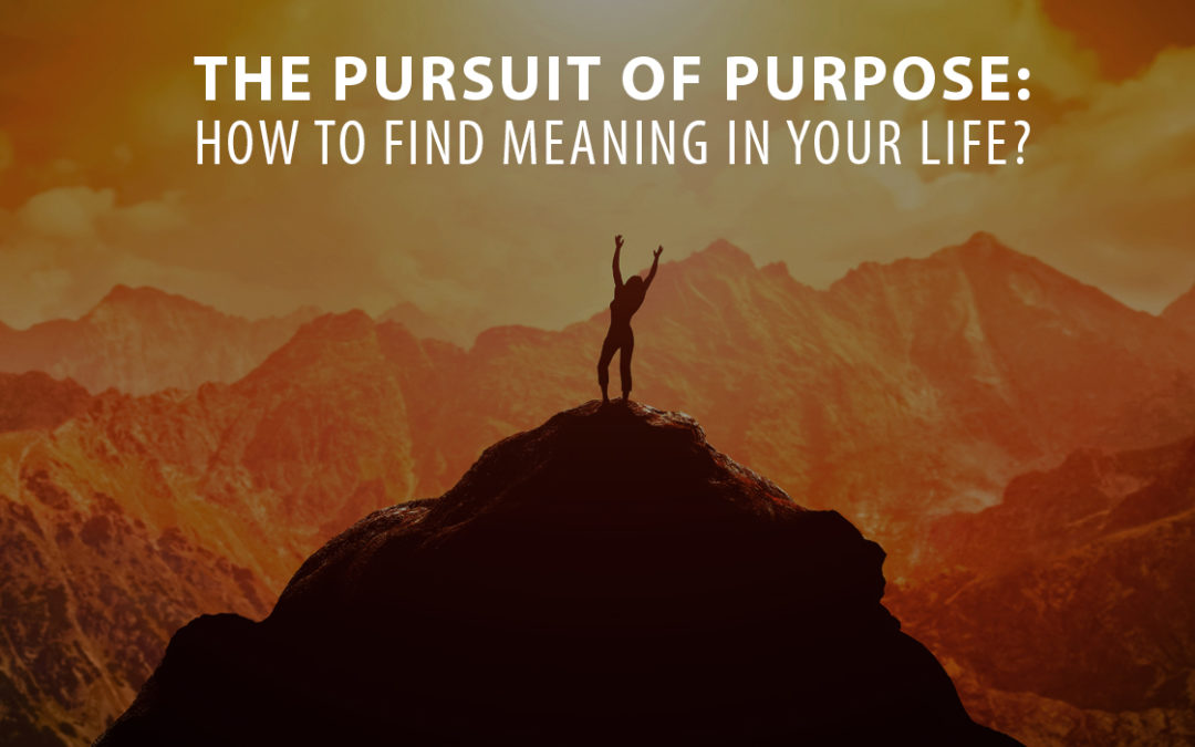 The Pursuit of Purpose: How to Find Meaning in Your Life?